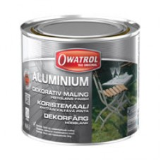 ALUMINIUM – Elastisk, blank aluminiumfärg 0,5 l